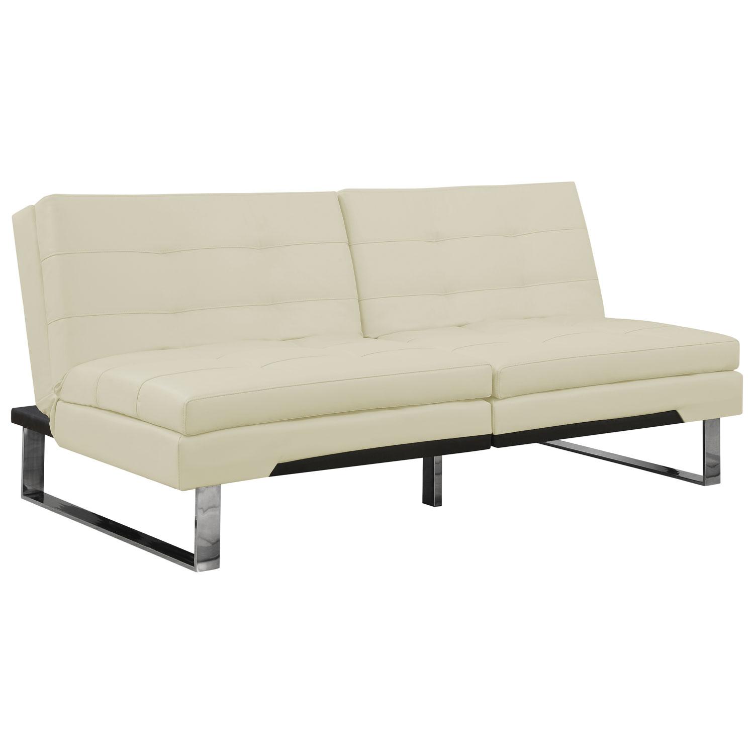 contemporary futon  ivory (i )  futons  sofa beds  best  - contemporary futon  ivory (i )  futons  sofa beds  best buy canada