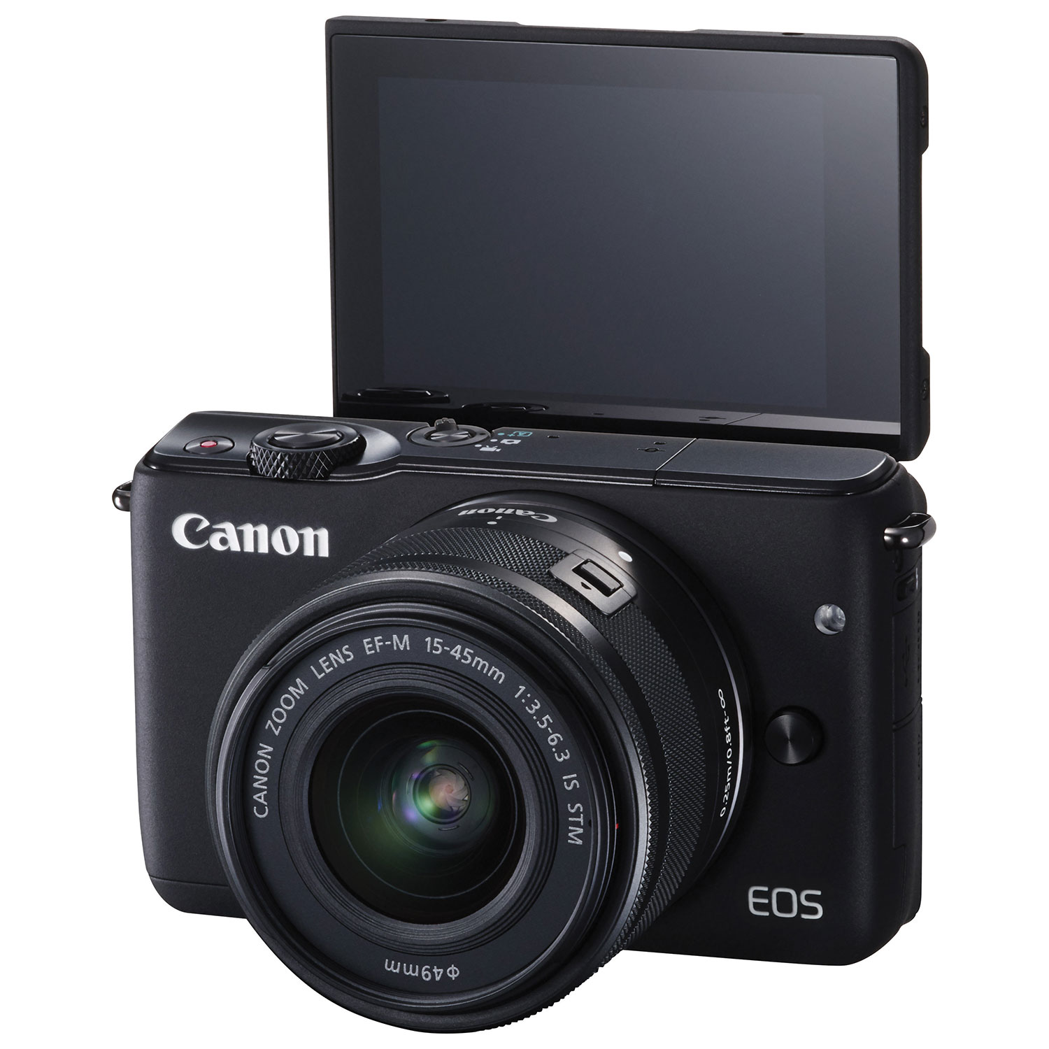 Canon EOS M10 Mirrorless Camera with 15-45mm Lens Kit : Mirrorless ...