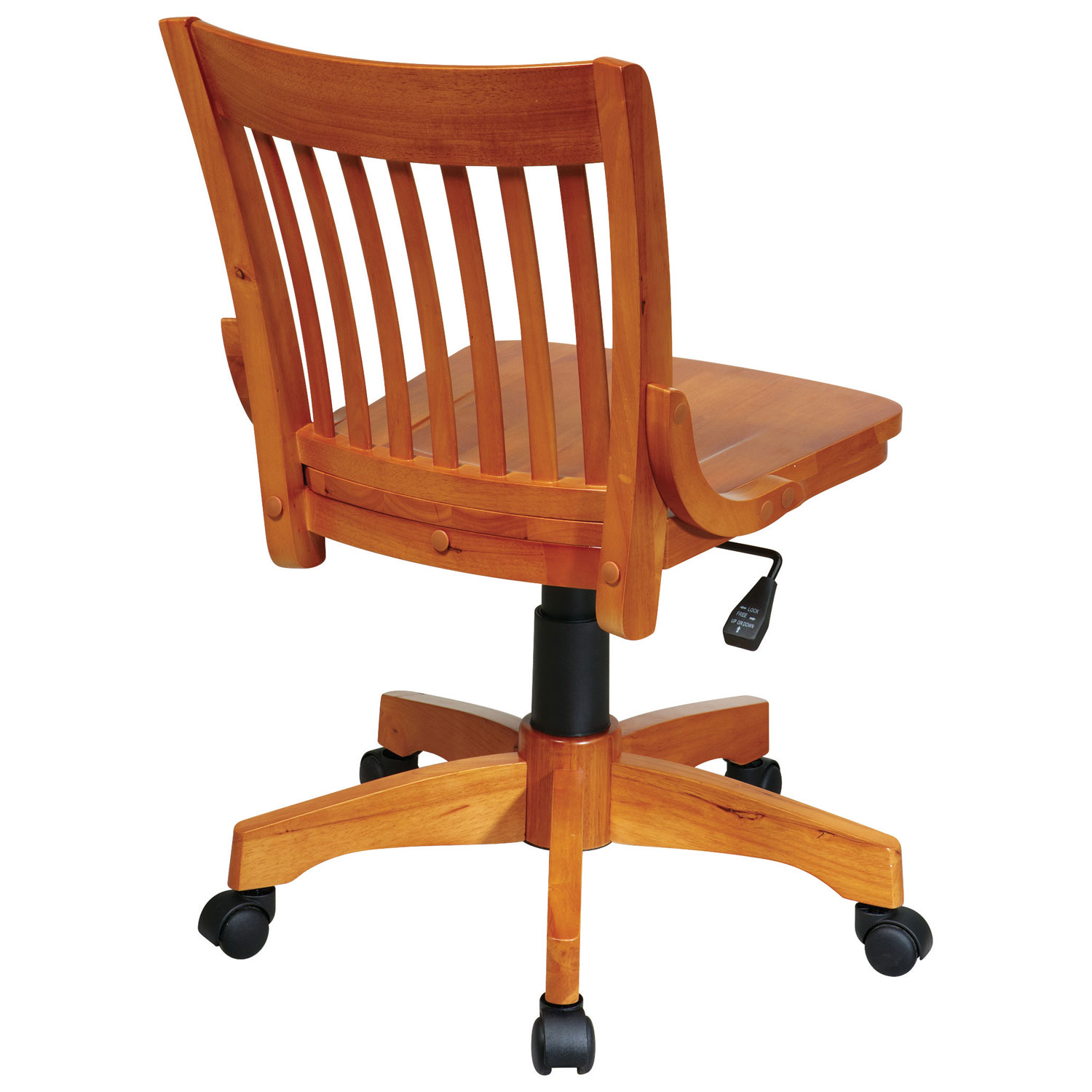 OSP Designs Wood Task Chair Fruitwood fice Chairs Best Buy