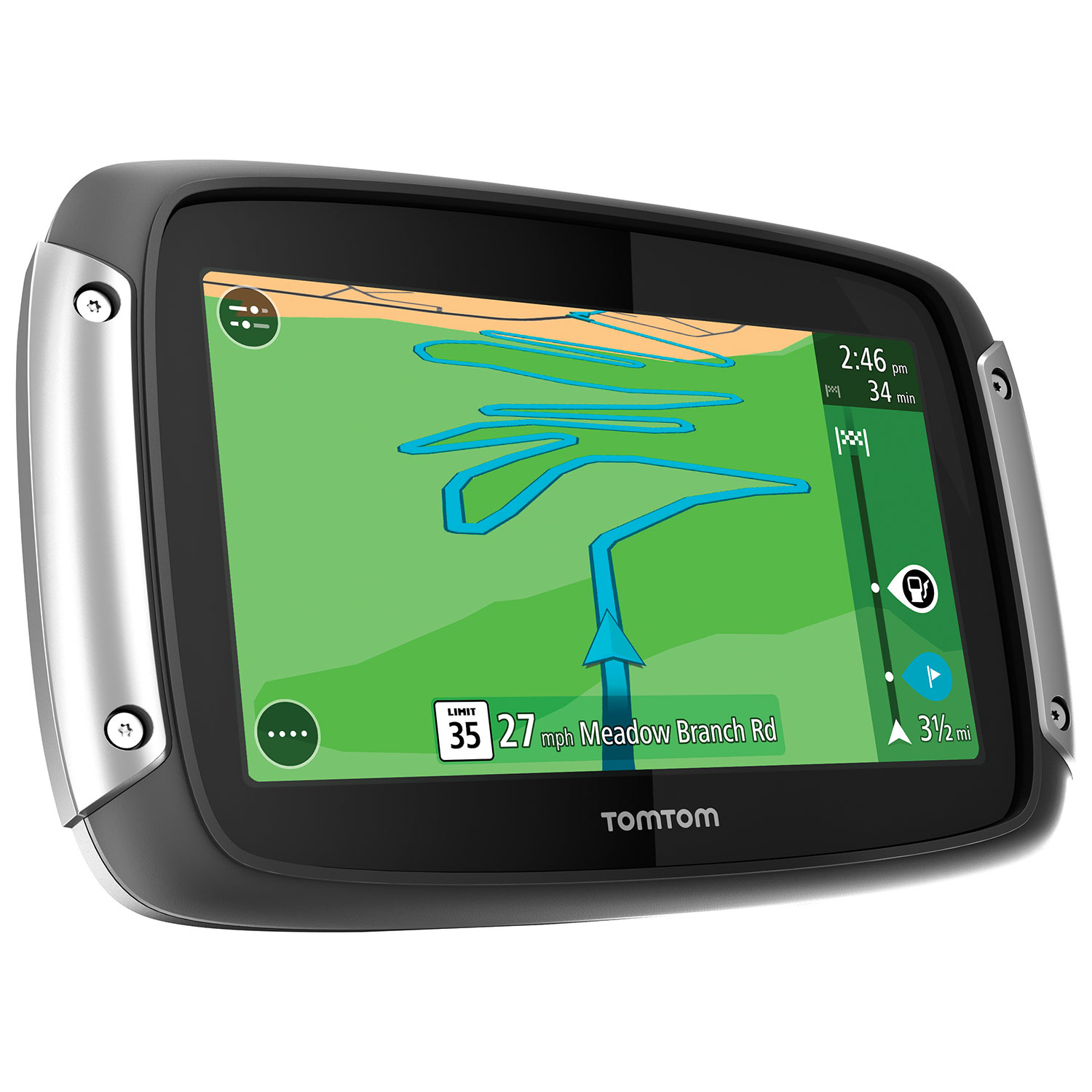 Tomtom Rider Gps Ge Gps Best Buy Canada Tomtom Map Usa
