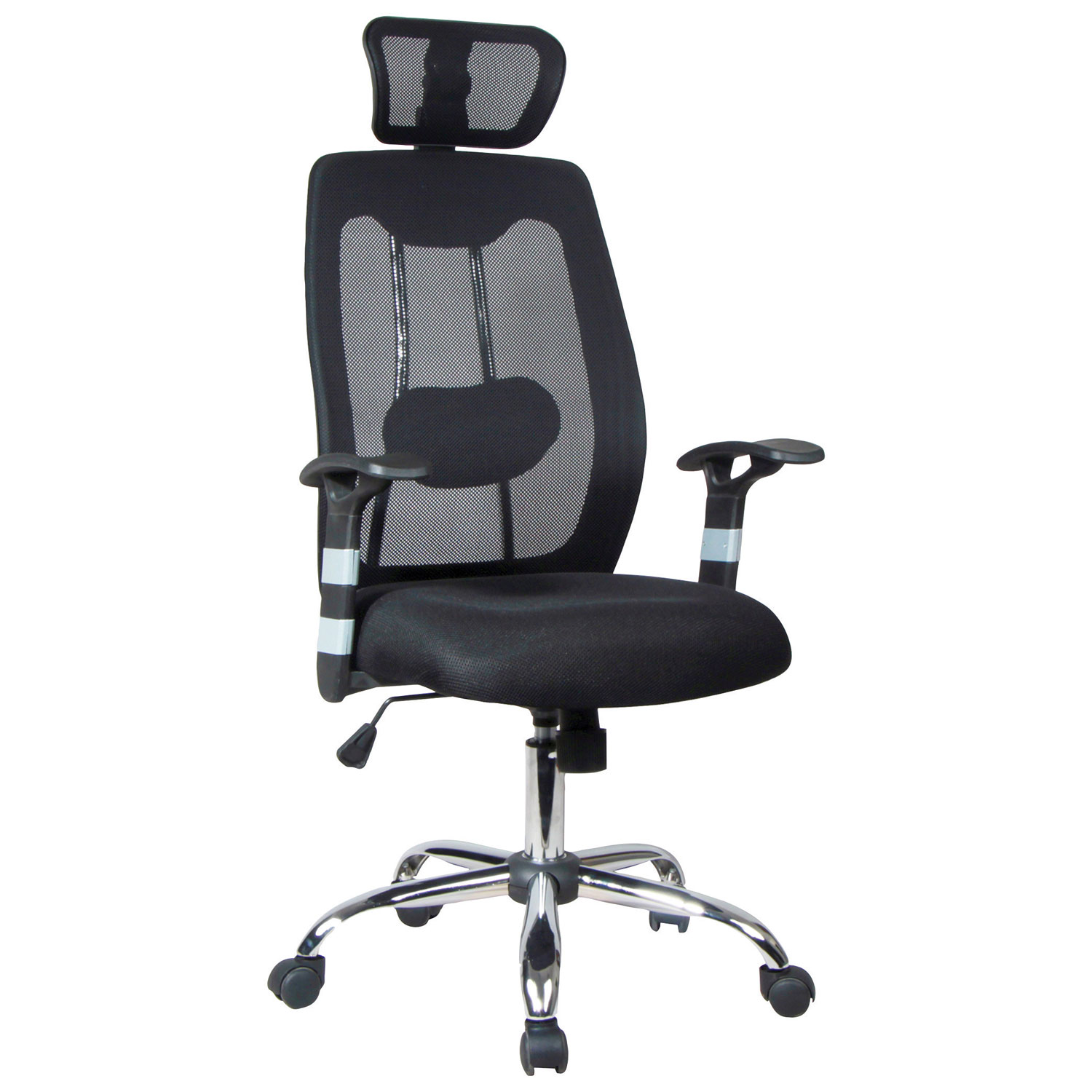 TygerClaw Mesh Manager Chair Black Office Chairs Best Buy Canada