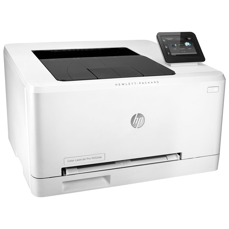 hp laserjet pro colour laser printer m252dw laser printers