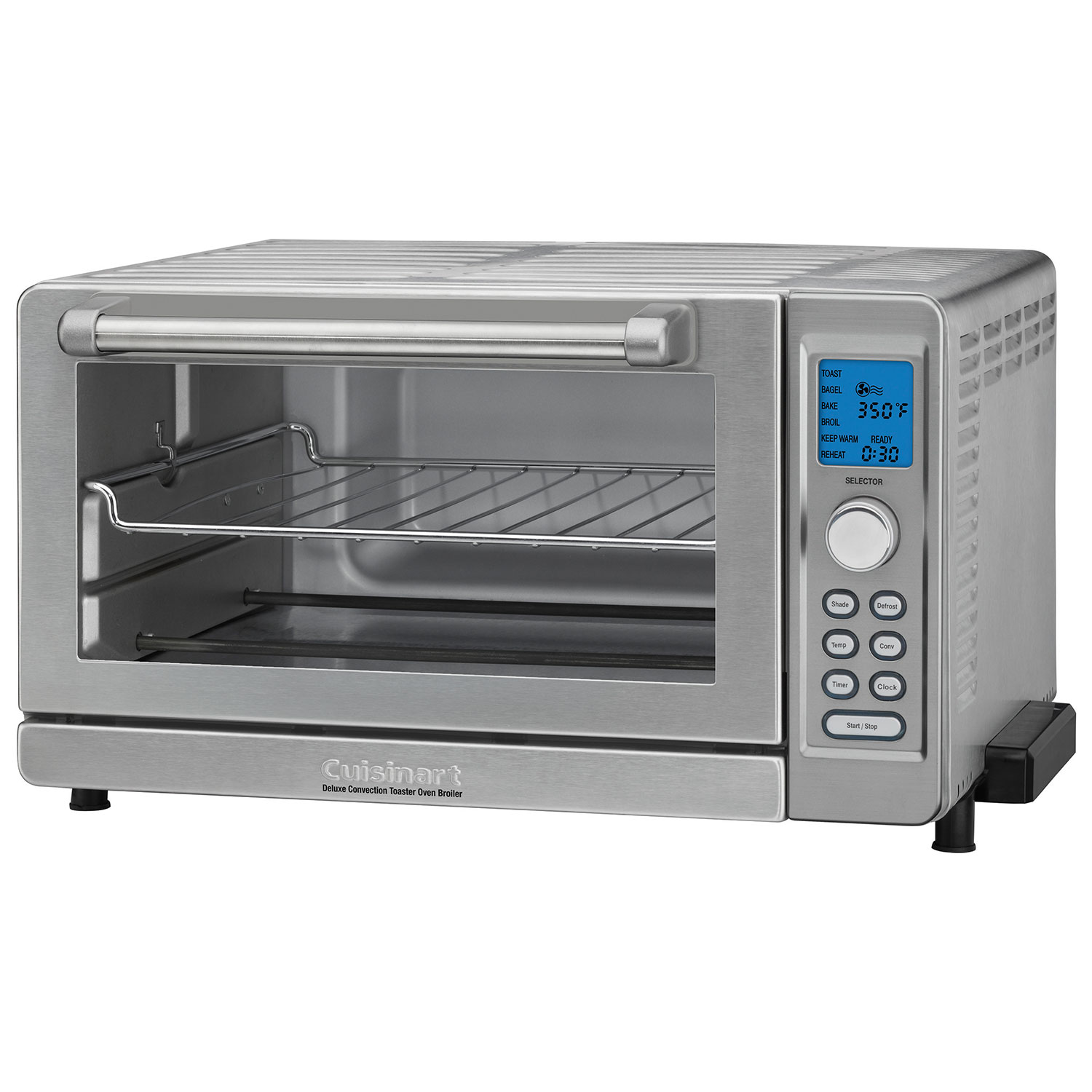 Cuisinart Deluxe Convection Toaster Oven - 0.6 Cu. Ft. - Stainless ...