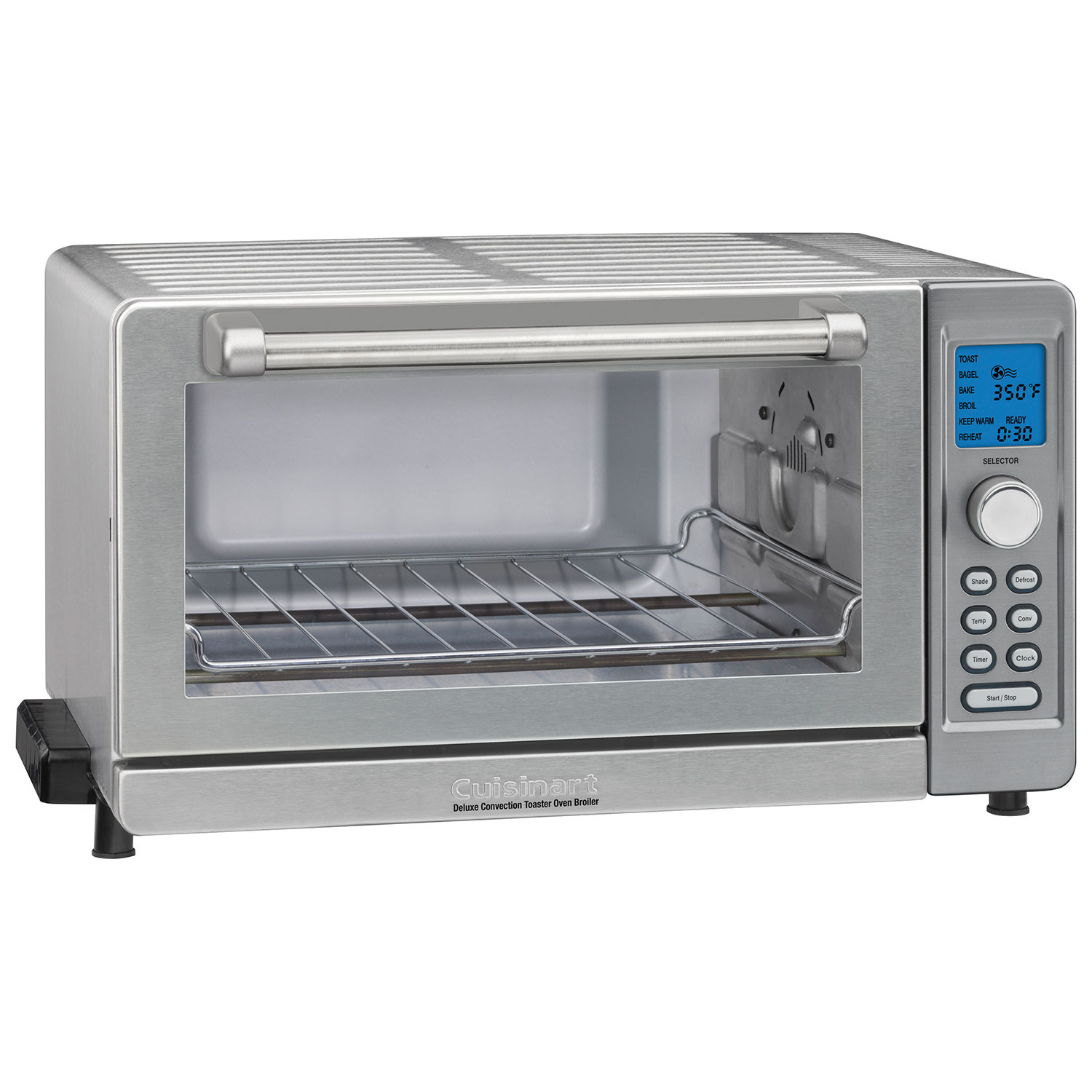 5b237b0da63 Cuisinart Deluxe Convection Toaster Oven - 0.6 Cu. Ft. - Stainless Steel -  Online Only