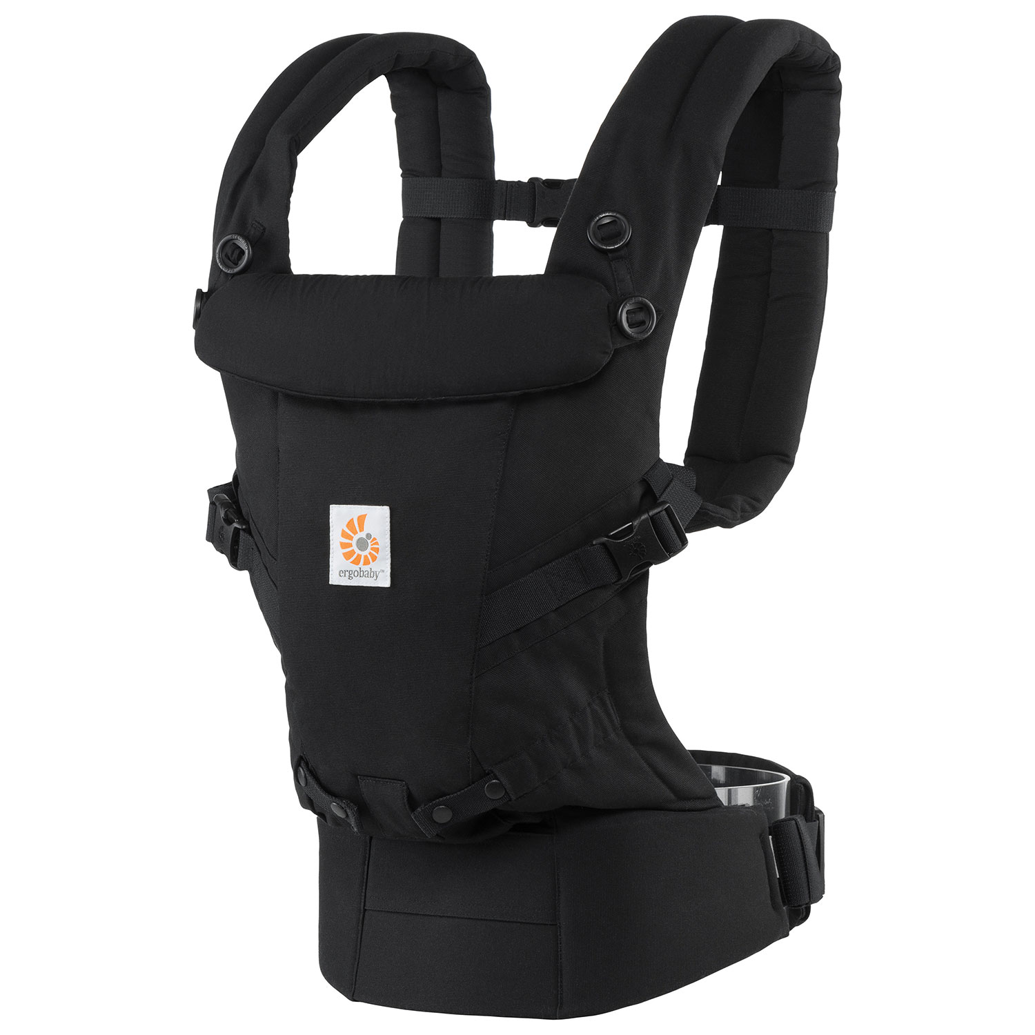 Ergobaby ADAPT Three Position Baby Carrier - Black   Baby Carriers ...