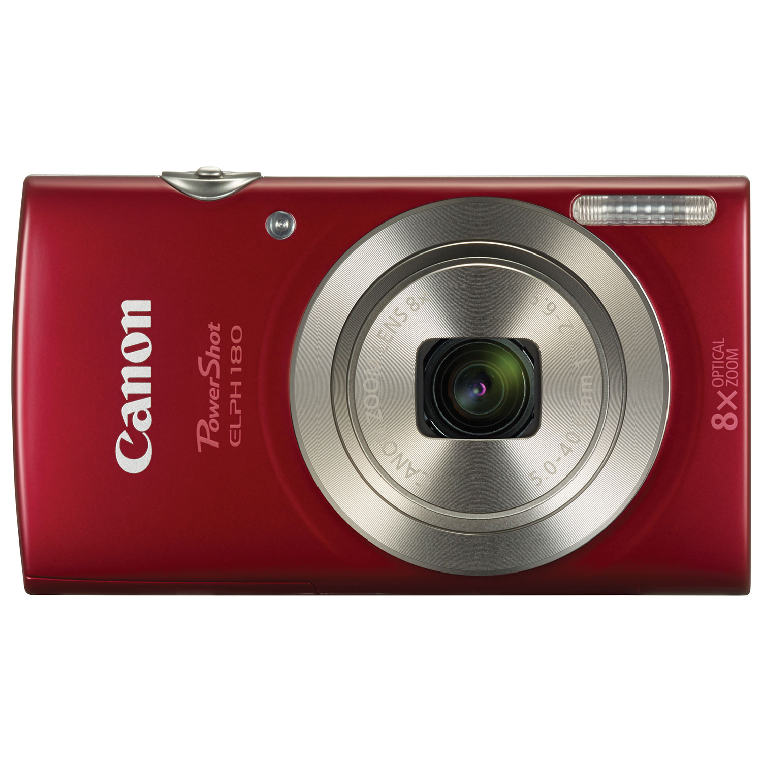 Canon Powershot Elph 180 200mp 8x Optical Zoom Digital Camera Red Diagram Film My Journey Point And Shoot Cameras Best Buy Canada