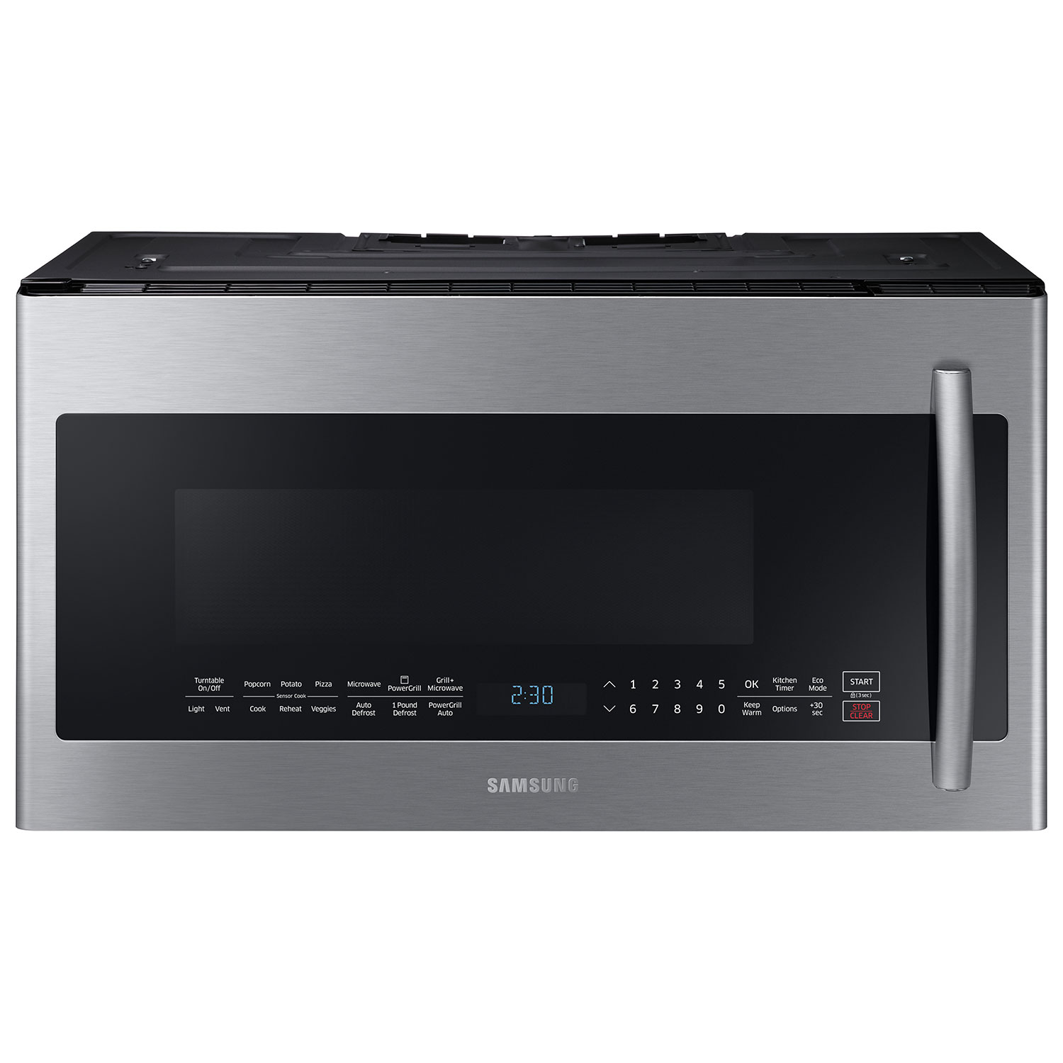 Whirlpool white ice microwave canada - Samsung Powergrill Over The Range Microwave 2 1 Cu Ft Stainless Steel
