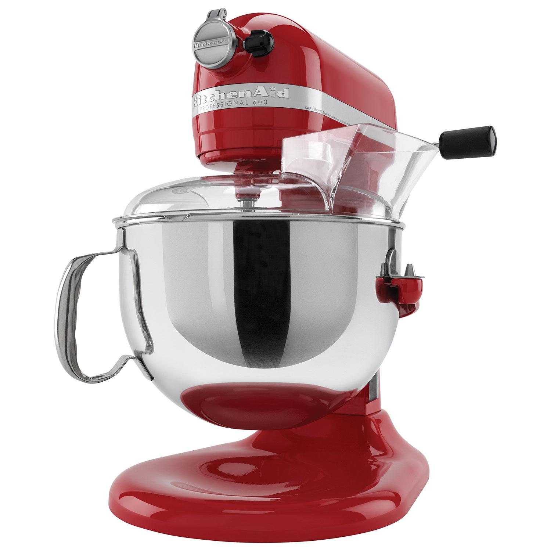 KitchenAid KL26M1XER Professional 6 Qt Bowl Lift Stand Mixer Empire Red