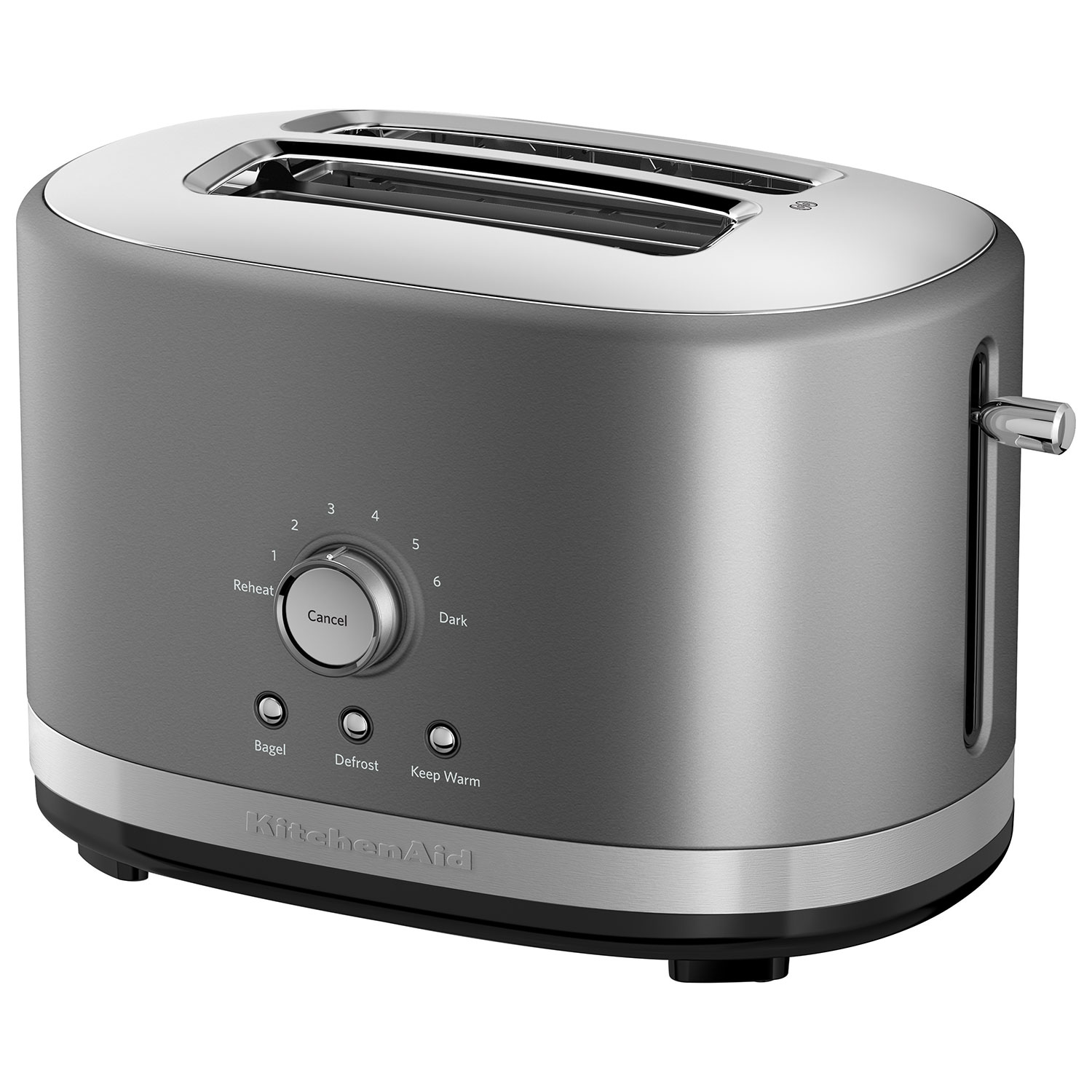 KitchenAid Toaster - 2-Slice - Contour Silver : Toasters - Best ...