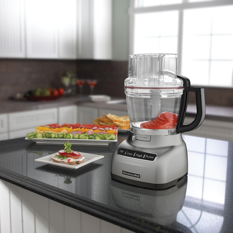 KitchenAid Food Processor   11 Cup   Contour Silver : Food Processors    Best Buy Canada