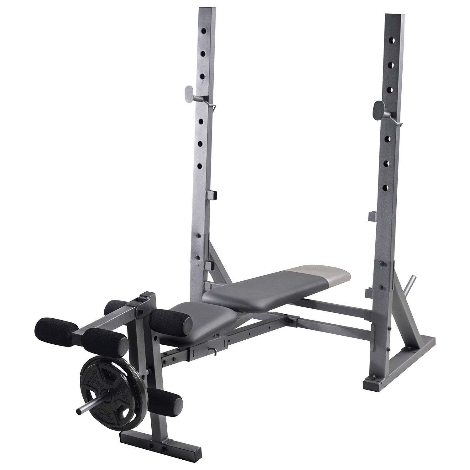 fitness set and itm weight bench adjustable rack weights w olympic lifting workout gym