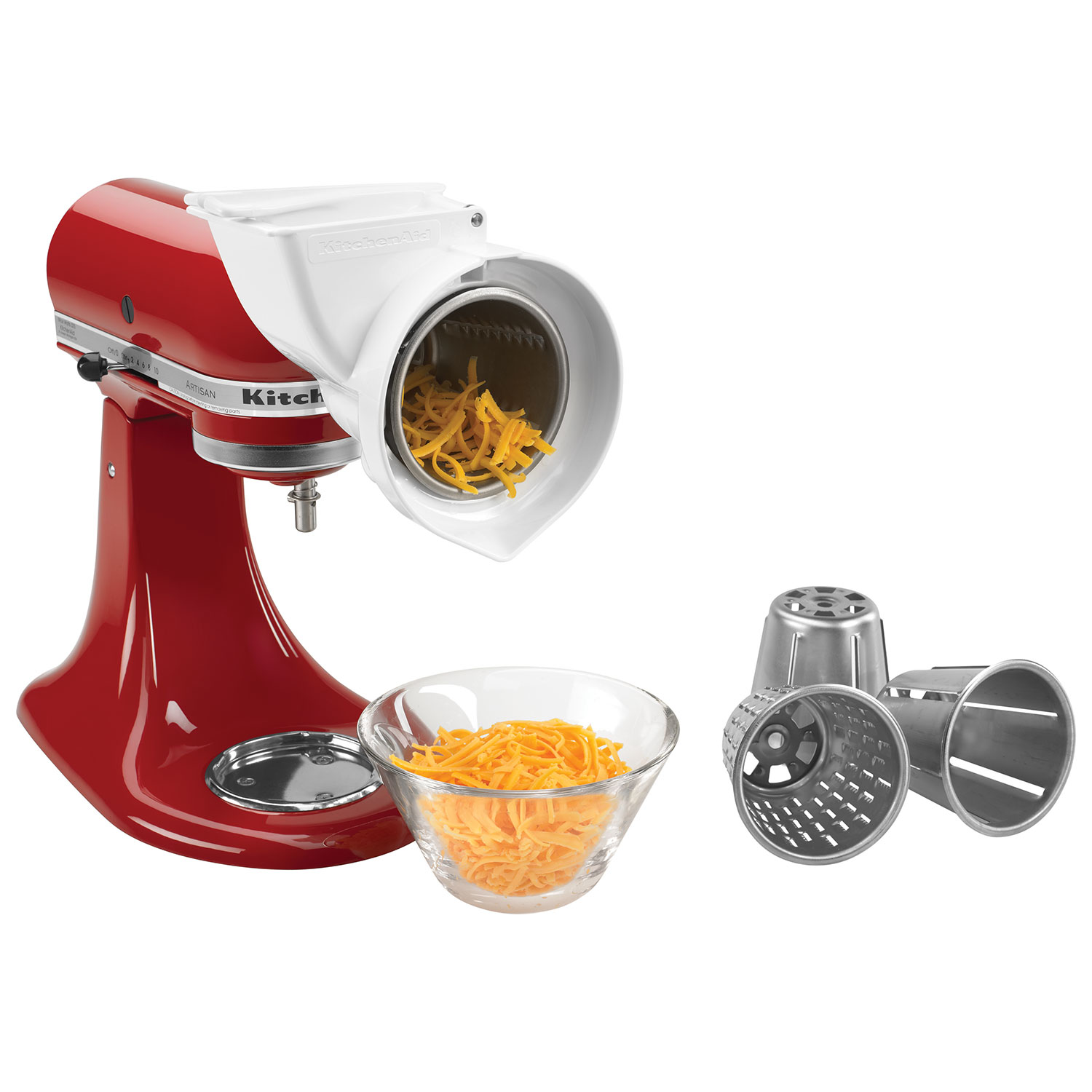 KitchenAid Roto Slicer With Shredder Stand Mixer Attachment : Mixer  Attachments   Best Buy Canada