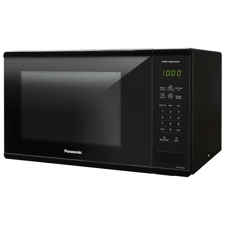 Panasonic 1 3 Cu Ft Microwave Nnsg626b Black Countertop
