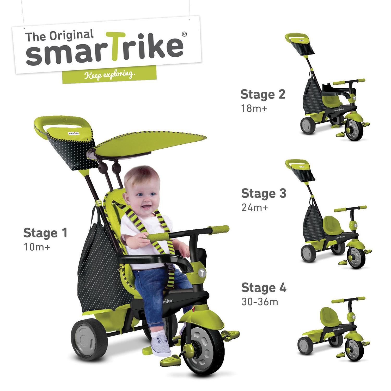 smart trike in kid tricycle  glow green  kids bikes  - smart trike in kid tricycle  glow green  kids bikes  tricycles best buy canada