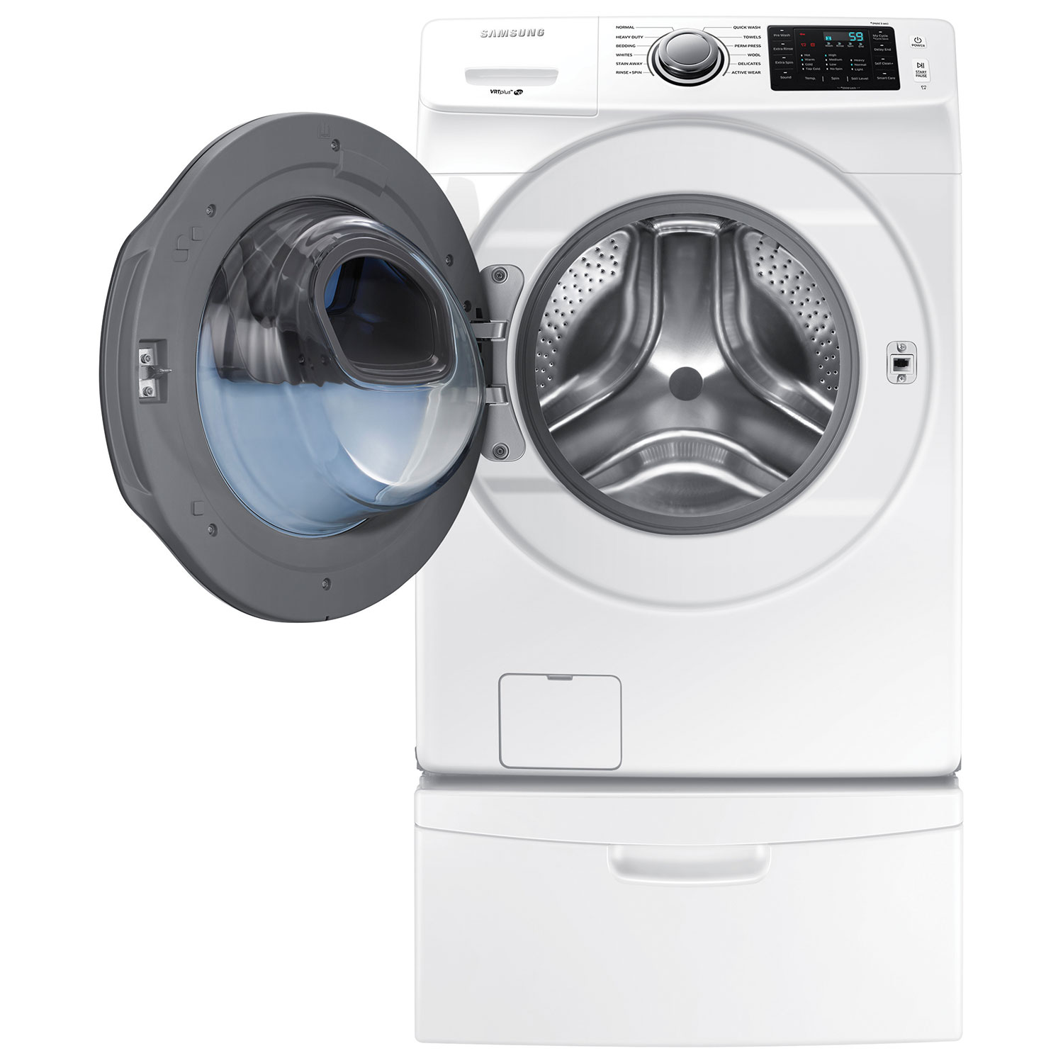 samsung 52 cu ft front load washer wf45k6200aw white washers best buy canada