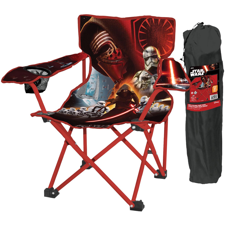 Danawares Star Wars Kid s Camp Chair Black Red Camp & Folding