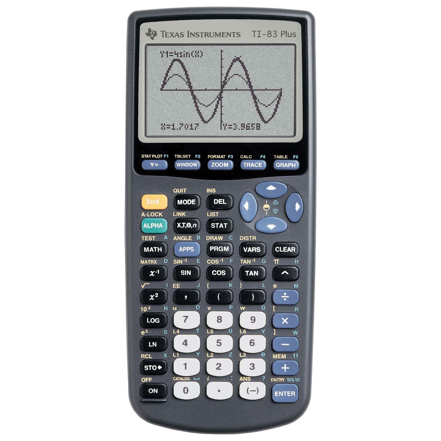 Texas instruments ti-84 plus graphing calculator | western.