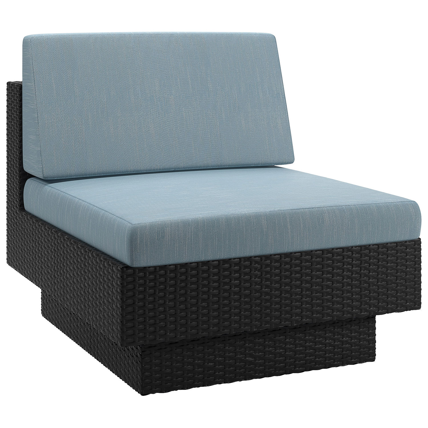 Park Terrace Contemporary Patio Chair Teal Outdoor Chairs