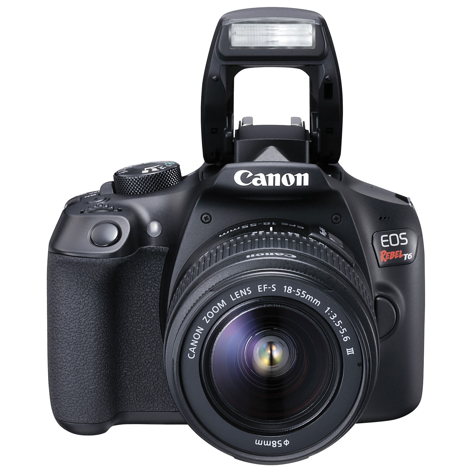 Canon Eos Rebel T6 Dslr Camera With Ef S 18 55mm F 35 56 Dc Iii Basic Controls Unleashed Lens Kit Kits Best Buy Canada