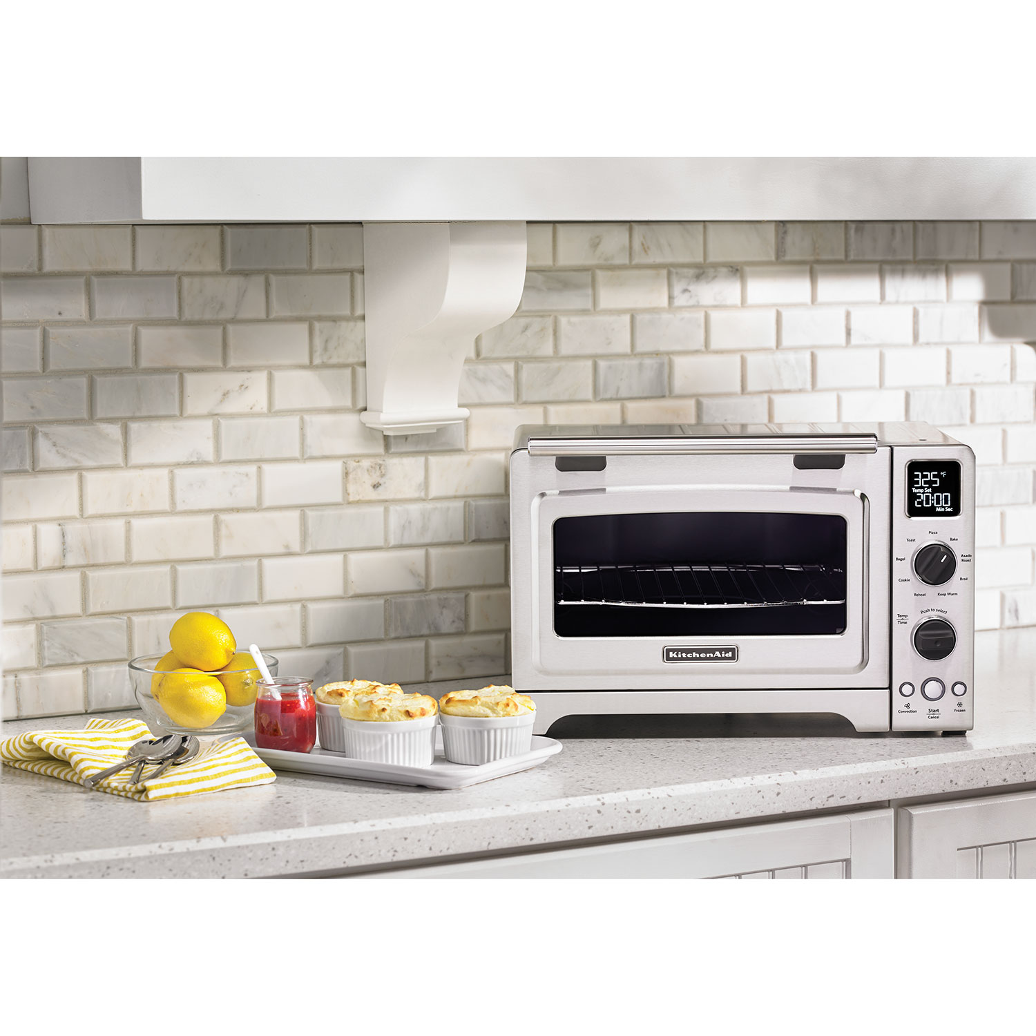 "Kitchenaid Conventional Oven kitcheaid 12"" convection toaster oven - stainless steel : toasters"