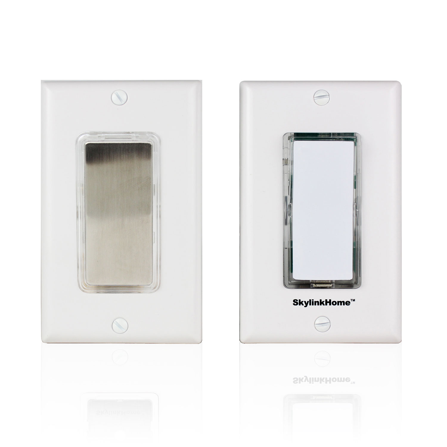 Skylinknet Wireless 3 Way Dimmer Switch Sk 7a White Smart Geeks On Home Threeway Outlet Wiring Options Switches Plugs Best Buy Canada