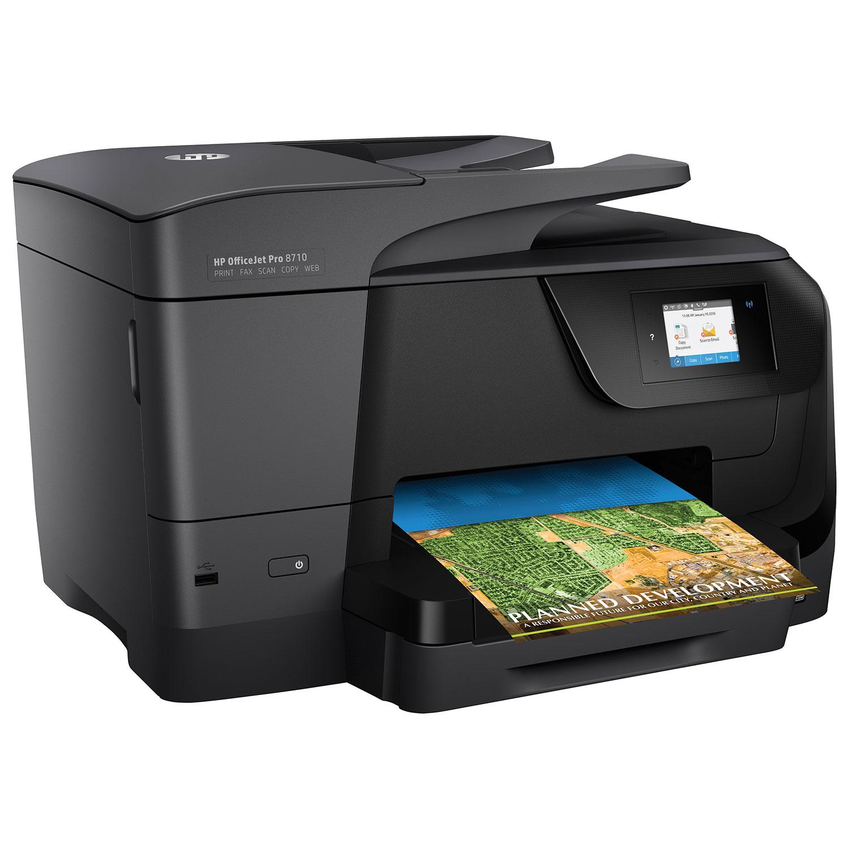 HP OfficeJet Pro 8710 Wireless Colour All In One Inkjet Printer