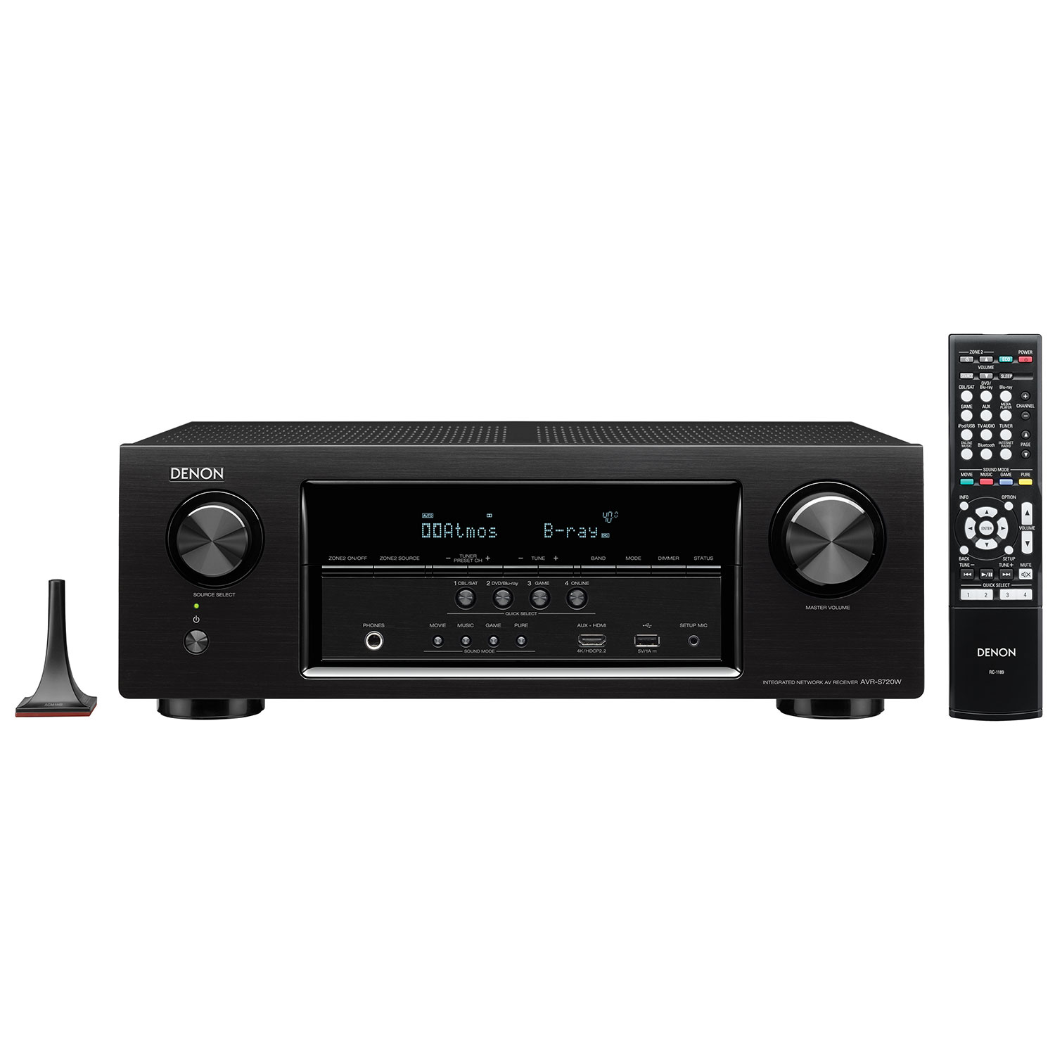 Denon AVR-S720W 7.2 Channel 4K Ultra HD Network AV Receiver - Only at Best  Buy : Home Theatre Receivers - Best Buy Canada