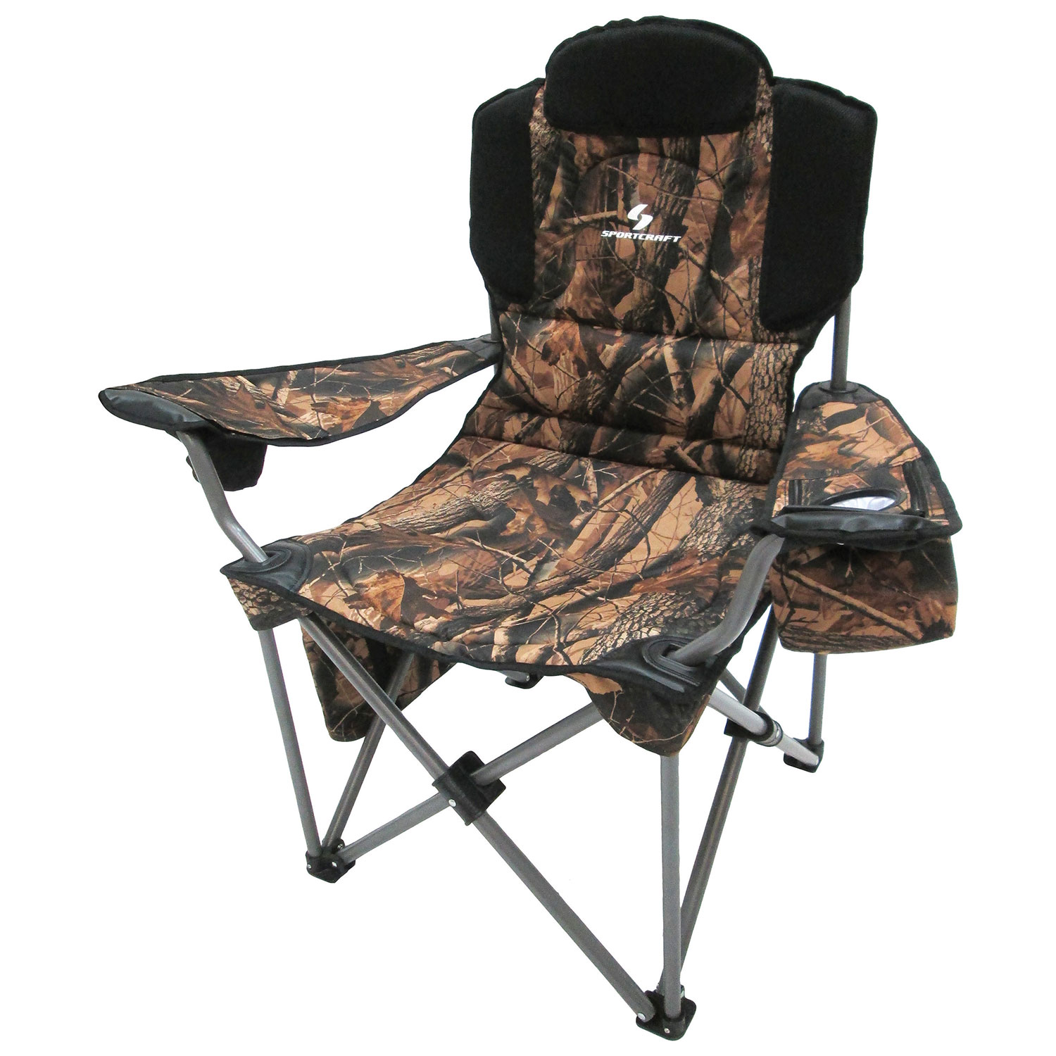 Sportcraft Huntsman Deluxe Oversized Heavy Duty Folding Chair