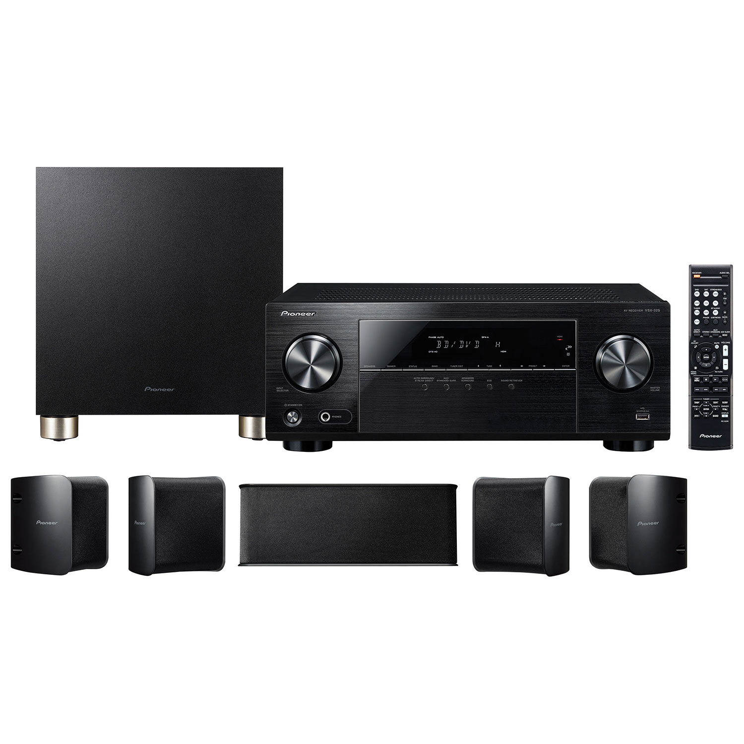 Shop audio systems home theatre systems best buy canada pioneer htp 074 51 channel home theatre system sciox Choice Image