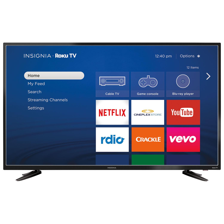 Best Buy Insignia 48 1080p Hd Led Roku Smart Tv Ns 48dr510ca17