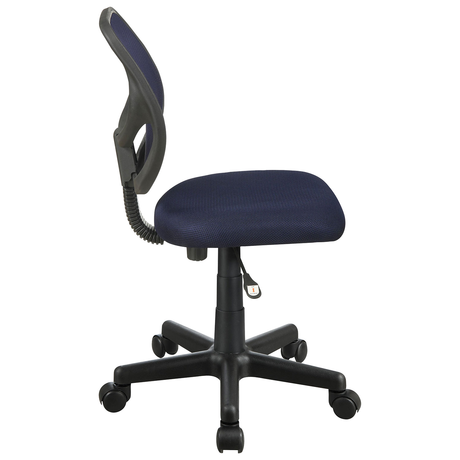 Milbrook Mesh Task Chair Navy Blue fice Chairs Best Buy Canada
