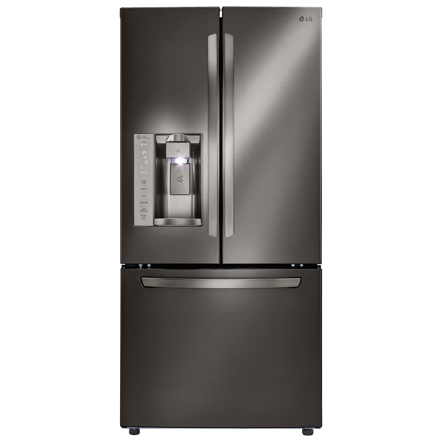 lg refrigerator stainless steel. lg 33\ lg refrigerator stainless steel
