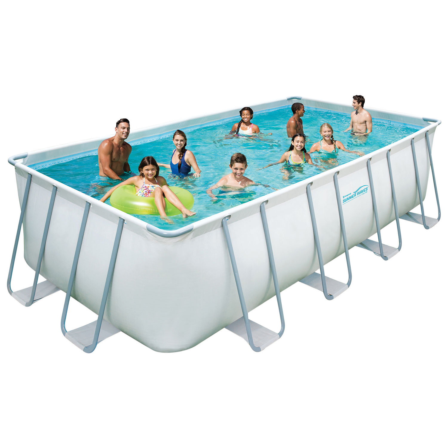 Rectangular Above Ground Pools Above Ground Swimming Pools With Decks And Fences U2014