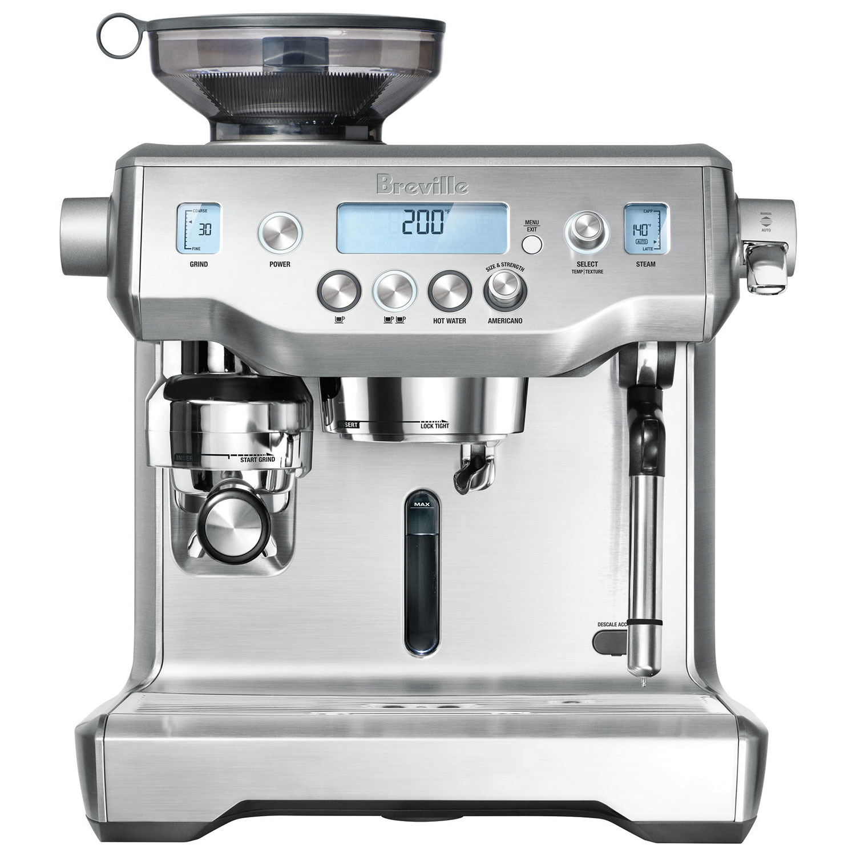 breville oracle espresso machine brebes980xl coffee makers best buy canada - Coffee And Espresso Maker