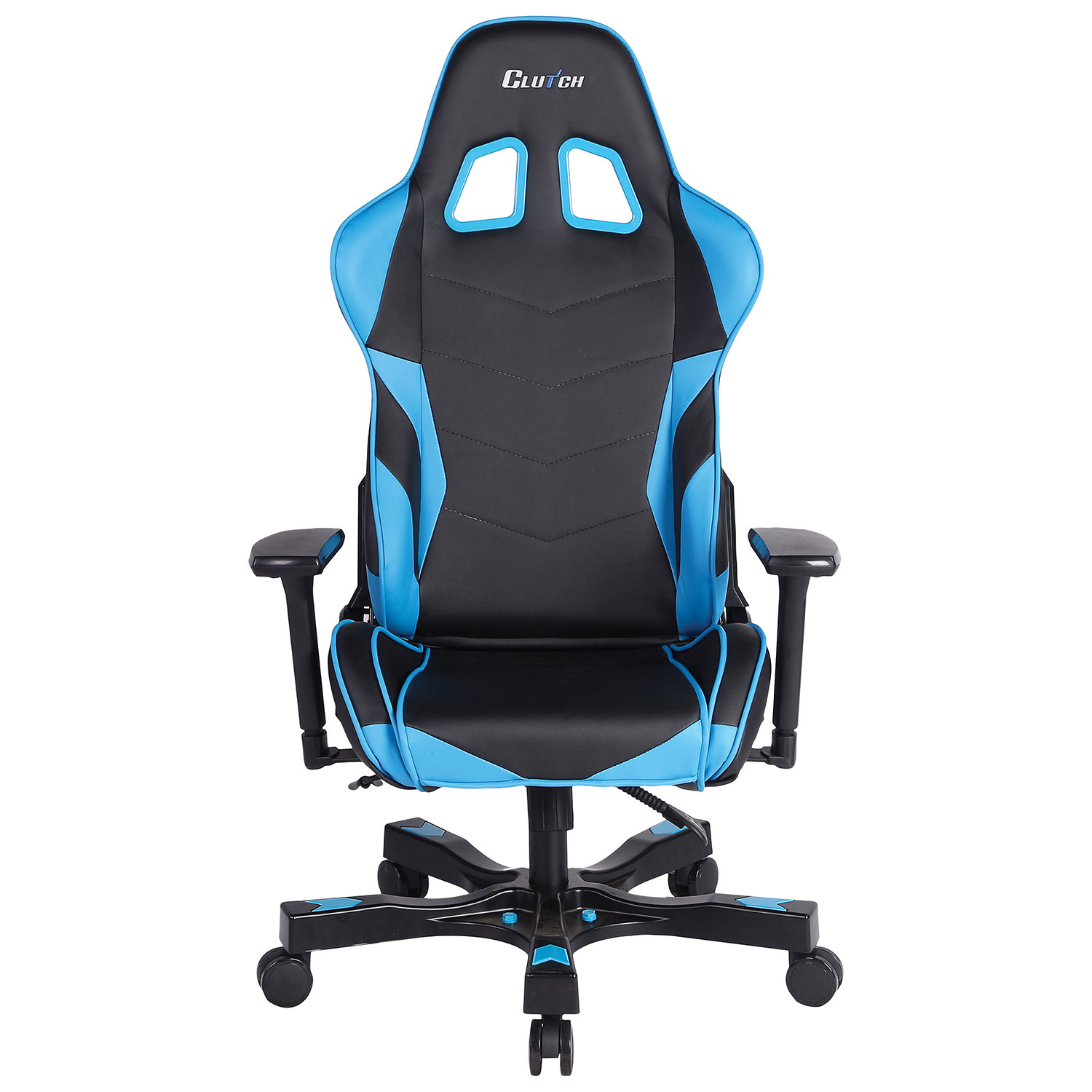 Clutch Chairz Crank Charlie Gaming Chair Blue Black Gaming
