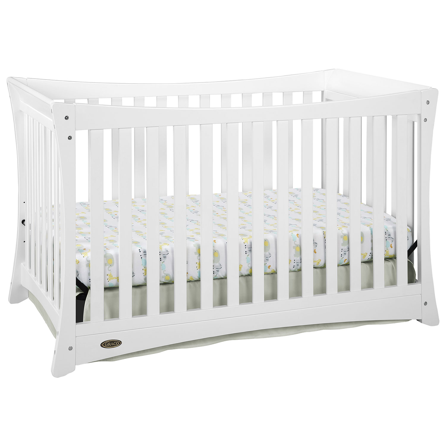 Crib for sale kelowna - Graco Tatum 4 In 1 Convertible Crib White