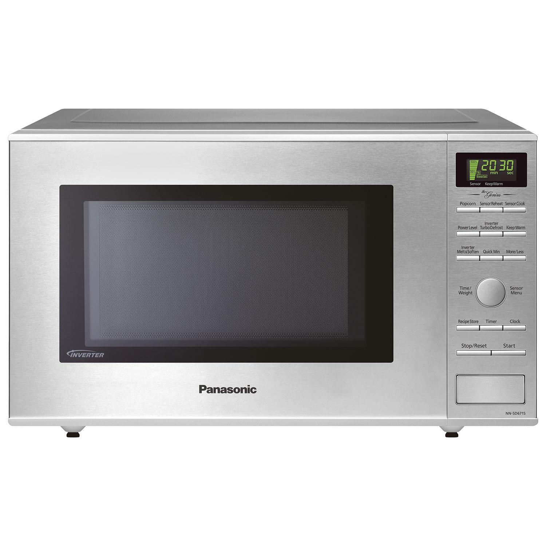 Panasonic Kitchen Appliances Panasonic Genius 12 Cu Ft Microwave Nnsd671sc Stainless