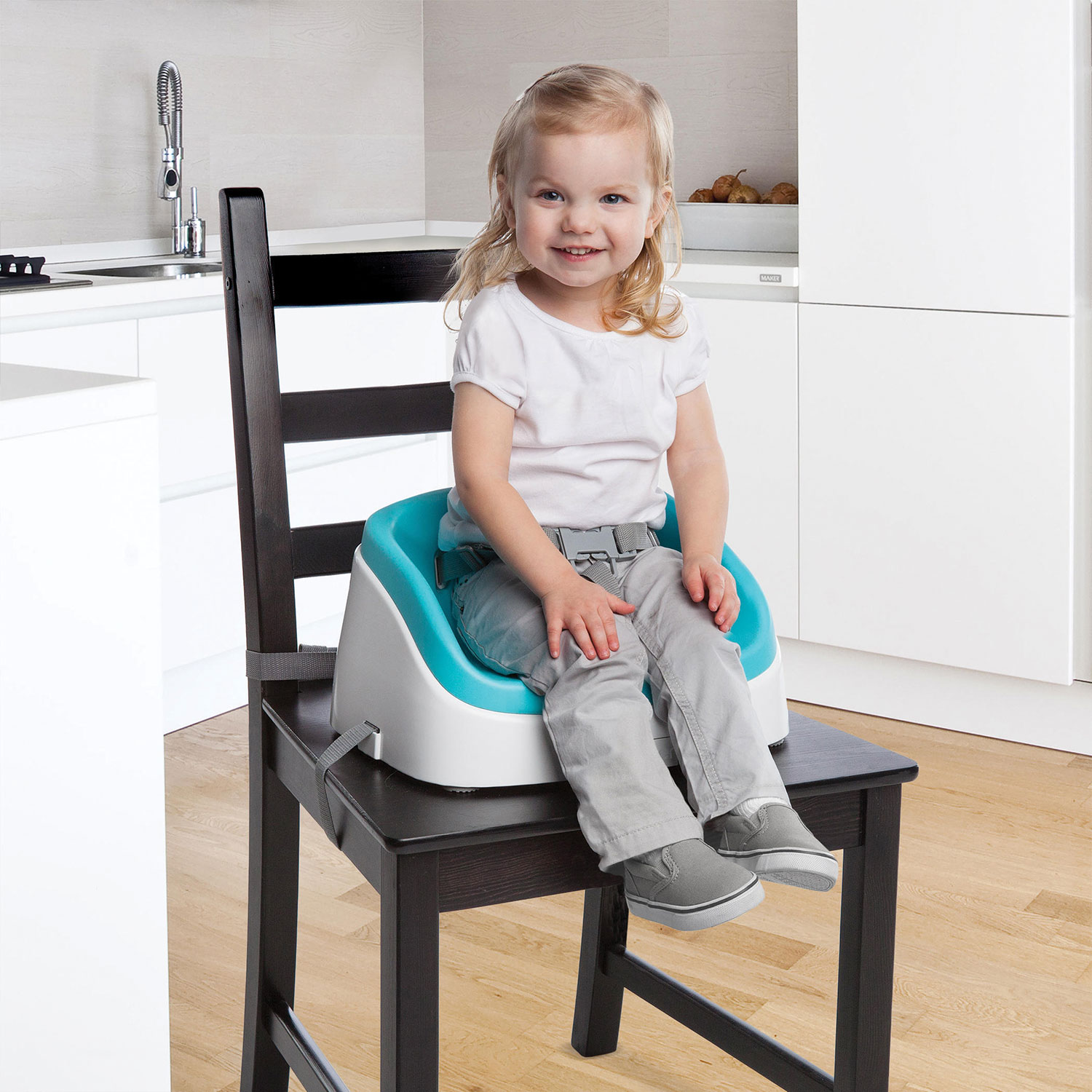 Ingenuity SmartClean Toddler Booster Seat Aqua Booster Seats