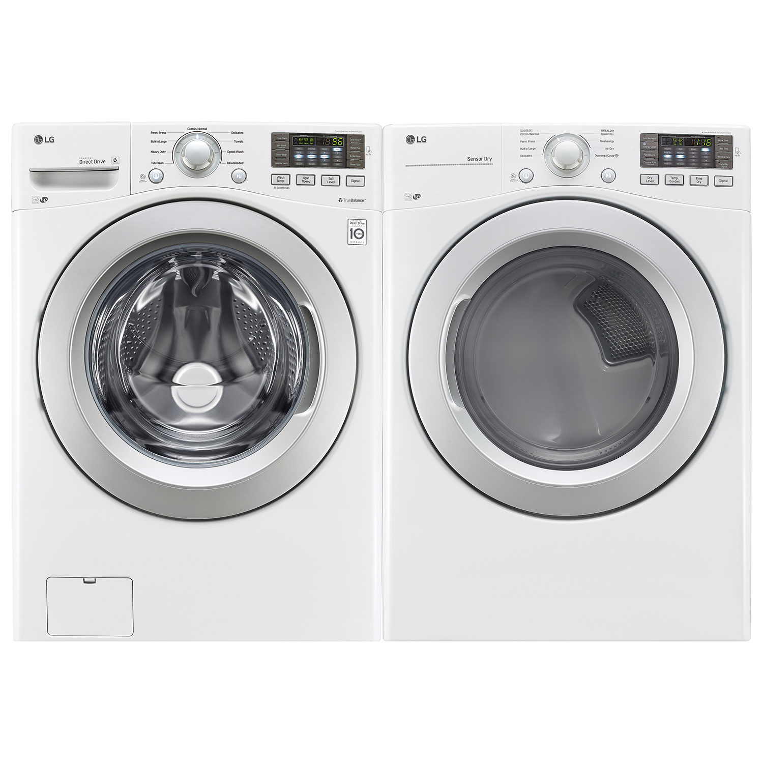 ft high efficiency front load washer wm3270cw white washers best buy canada