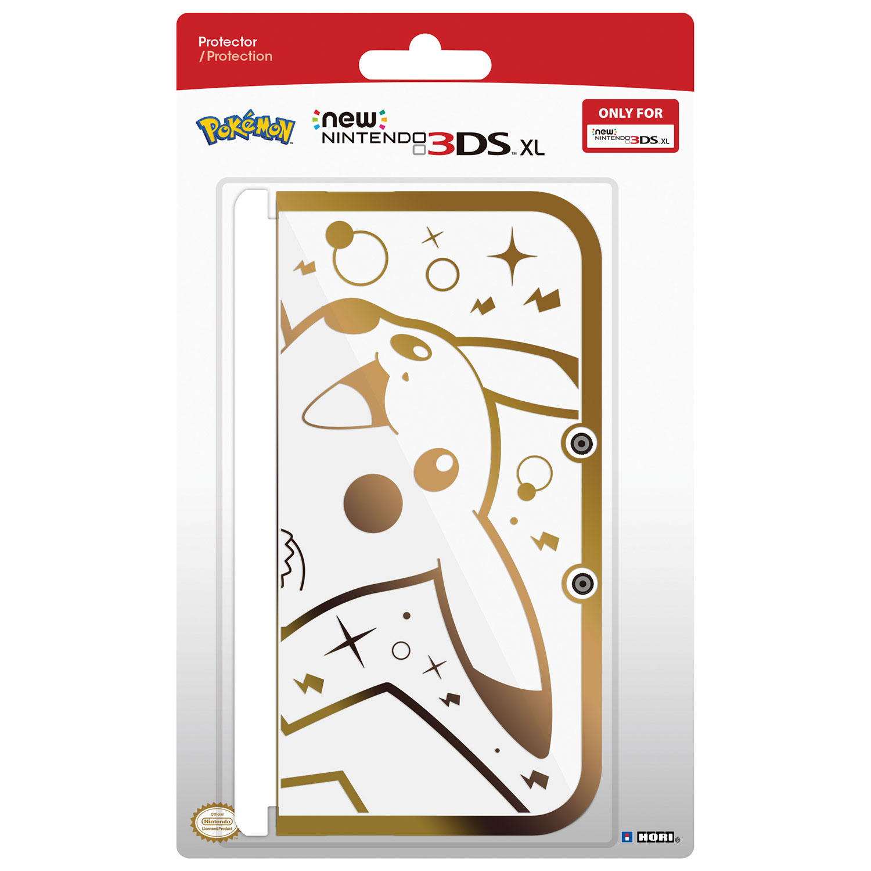 hori gold pikachu new nintendo 3ds xl protector nintendo 3ds