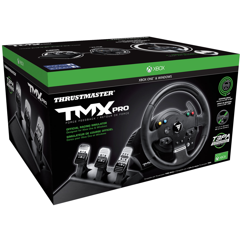 thrustmaster tmx pro racing wheel for xbox one pc xbox one