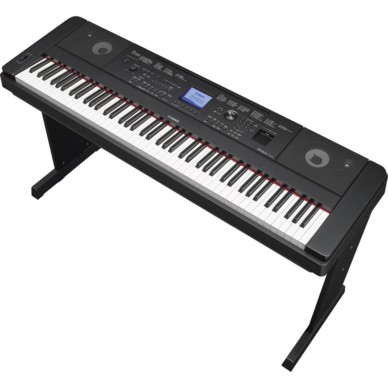 yamaha 88 key digital piano. yamaha 88-key digital piano (dgx660 b) - black : pianos best buy canada 88 key h