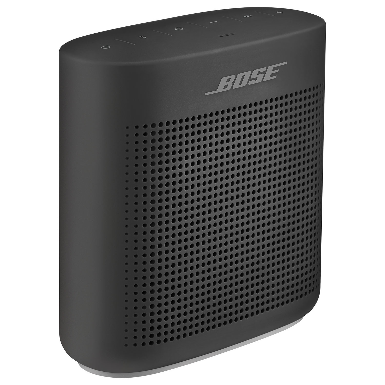 48a81285bec Bose SDLK Color II Black Splashproof Bluetooth Wireless Speaker - Black    Portable Bluetooth Speakers - Best Buy Canada