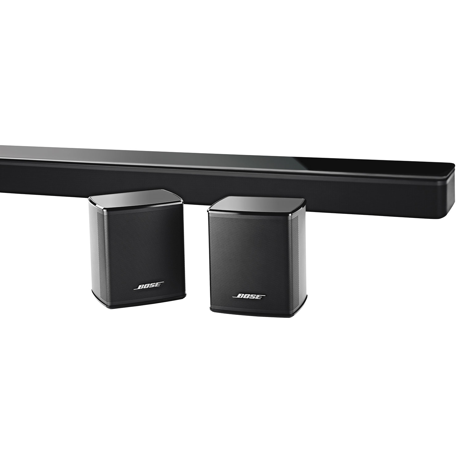 bose virtually invisible 300 wireless surround speaker pair black home speakers best buy canada