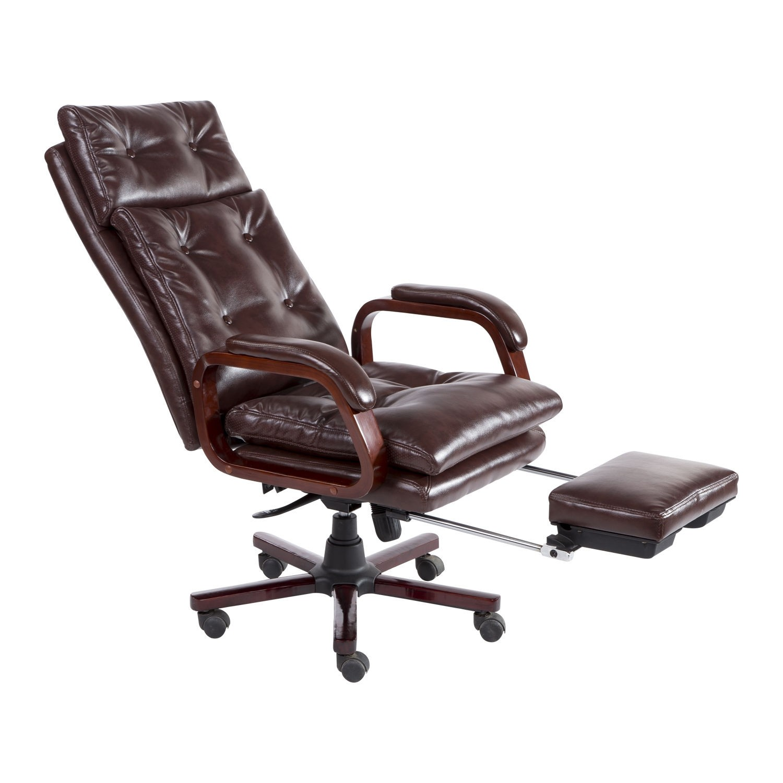 HOM Modern fice Chair High Back Ergonomic PU Seat Adjustable