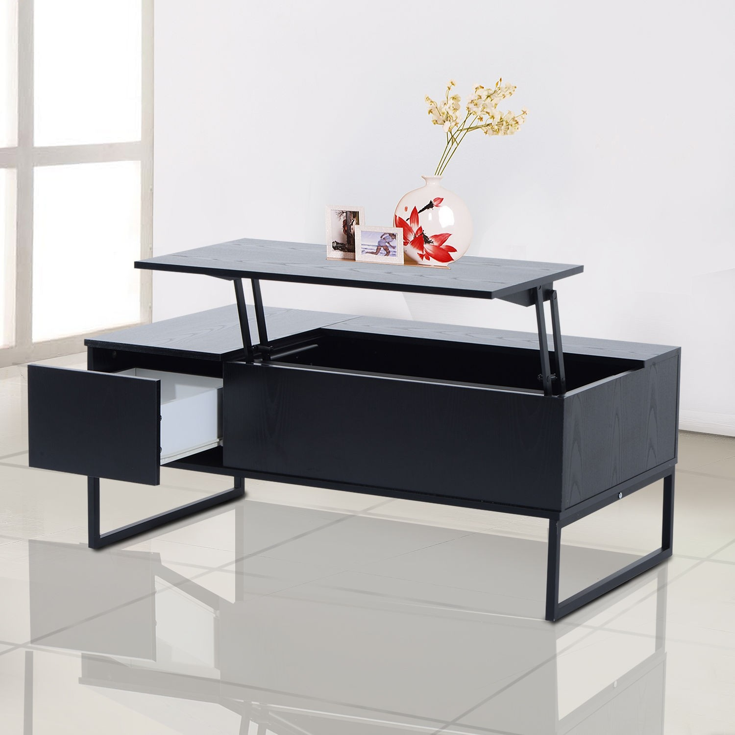 desk coffee table height convertible adjustable dining designs taffette ideas
