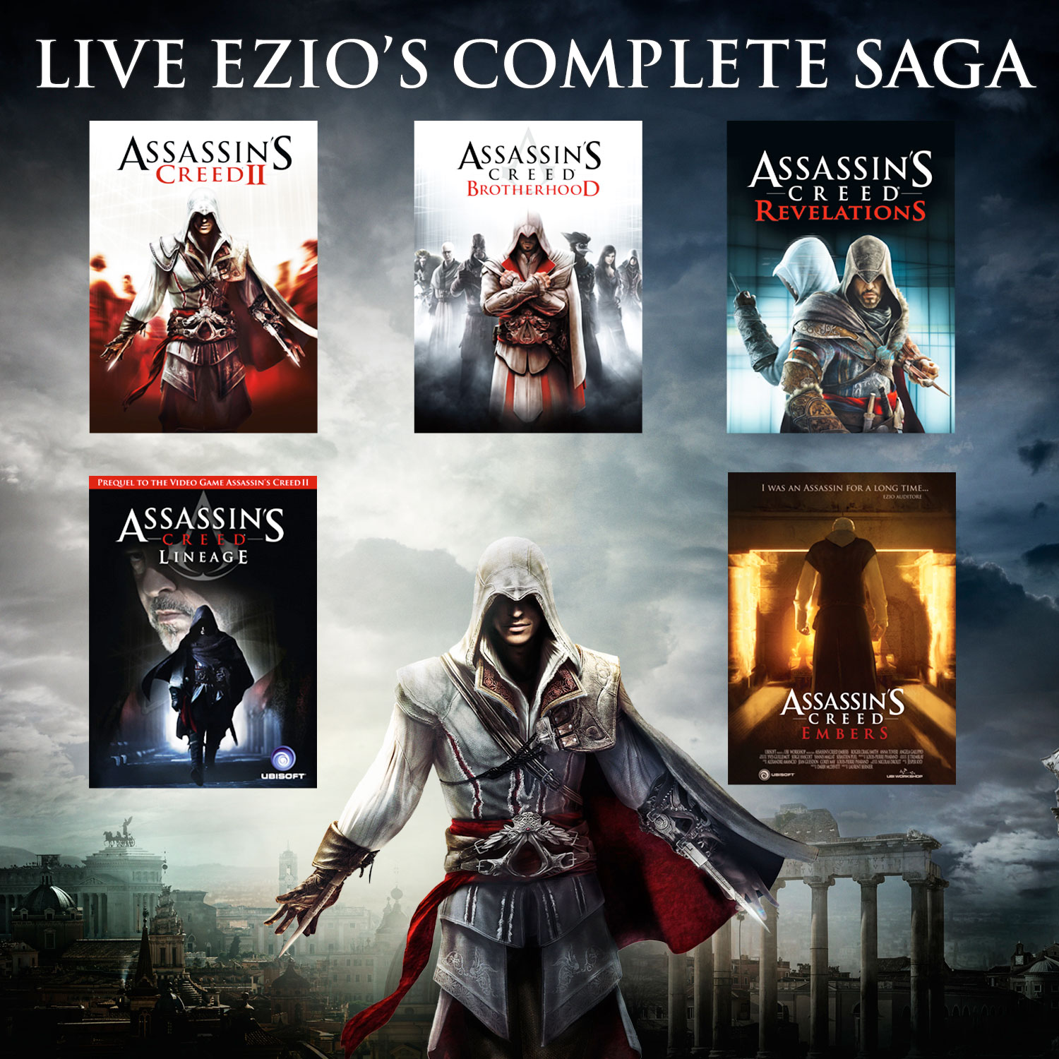 Assassins Creed The Ezio Collection Ps4 Best Buy Canada