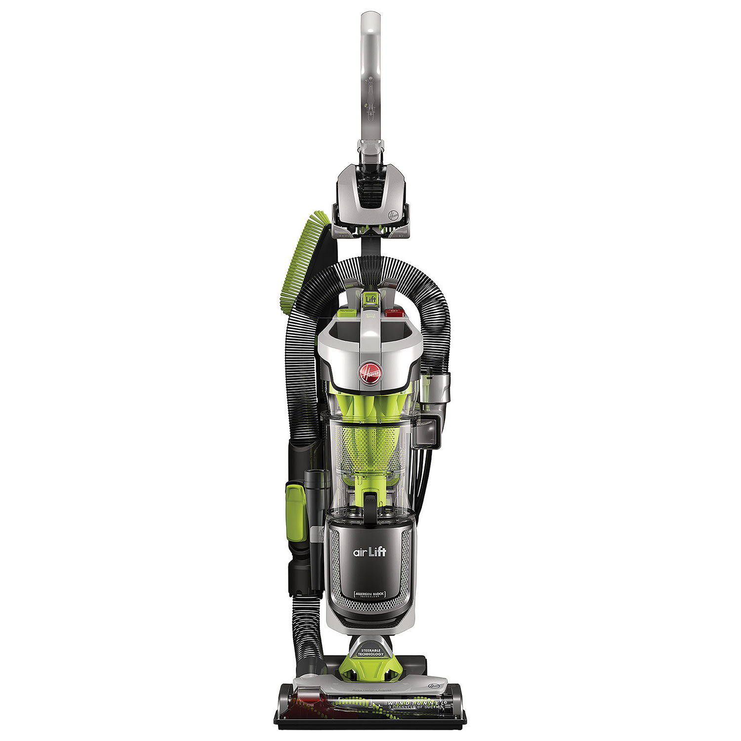 Hoover Air Lift Deluxe Upright Canister Vacuum
