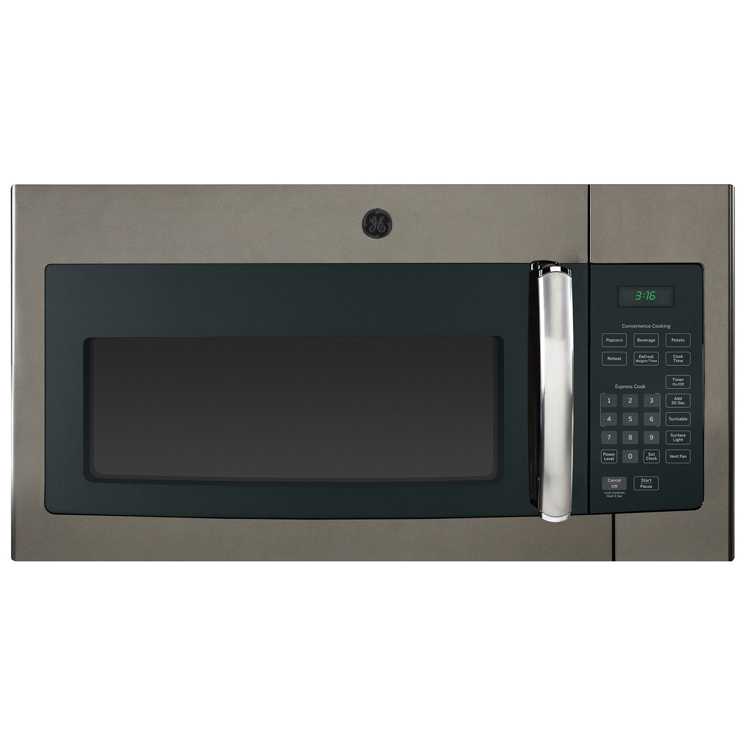 Best Over The Oven Microwaves Ge Over The Range Microwave Oven 16 Cu Ft Slate Over The