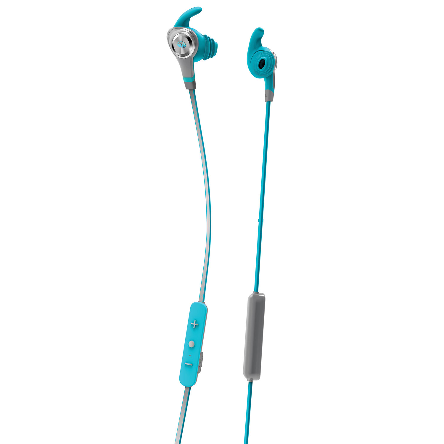 Monster Isport Intensity In Ear Sound Isolating Bluetooth Headphones Isolation Audio Having On Volume Control Wiring With Mic Blue Earbuds Best Buy Canada